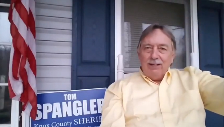 Bo Pierce Endorses Tom Spangler for Knox County Sheriff
