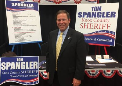 Tom Spangler at Campaign Event