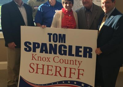 Tom Spangler for Knox County Sheriff